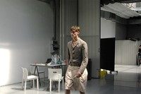 Backstage at Kolor, Pitti Uomo 2014