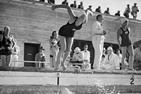 American swimmer Helene Madison at the 1932 Olympics in Los