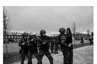 """The special forces of the """"Batallion Sever"""" (Battalion North"""