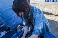 Laura Sato, part of the Levi's Makers team in Barstow