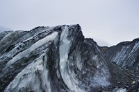 Wavelike formation next to the Tuv Glacier in the Hornsund f