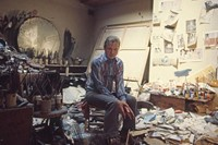 Francis-Bacon-in-his-studio-in-London-in-1974