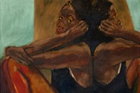 Lynette Yiadom-Boakye paintings Southbound Catechism 2018