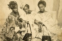 African Lookbook Visual History 100 Years African Women