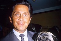 Valentino and his pug