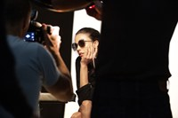 Chanel SS20 Eyewear BTS Pharrell Williams Margaret Qualley