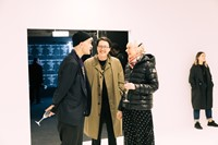 Willy Vanderperre, James Campbell and Thea Charlesworth