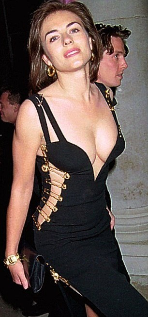 Versace Dress, Elizabeth Hurley