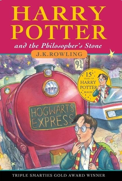 JK Rowling – Harry Potter and the Philosopher's Stone
