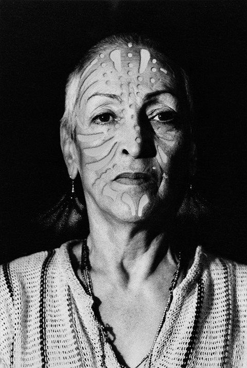 Meret Oppenheim, Portrait with Tattoo, 1980