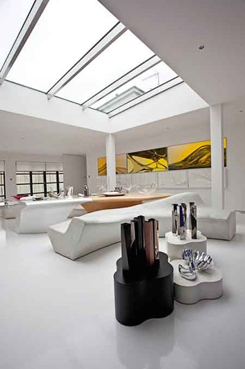 Zaha Hadid's Clerkenwell Penthouse, London