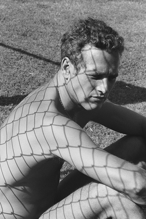 Paul Newman (1964) by Dennis Hopper
