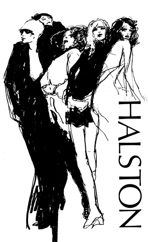 Halston advertisement, early 1970s