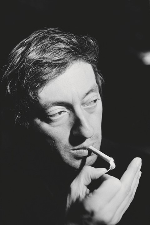 Serge Gainsbourg at The King Club, 18 December 1967