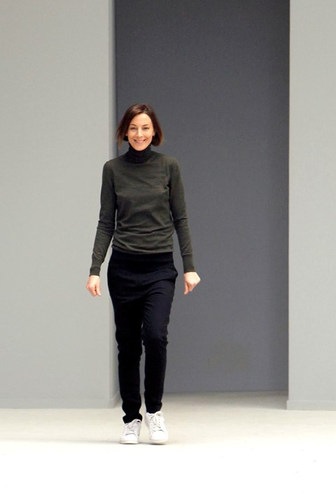 Phoebe Philo after the Céline A/W11 show