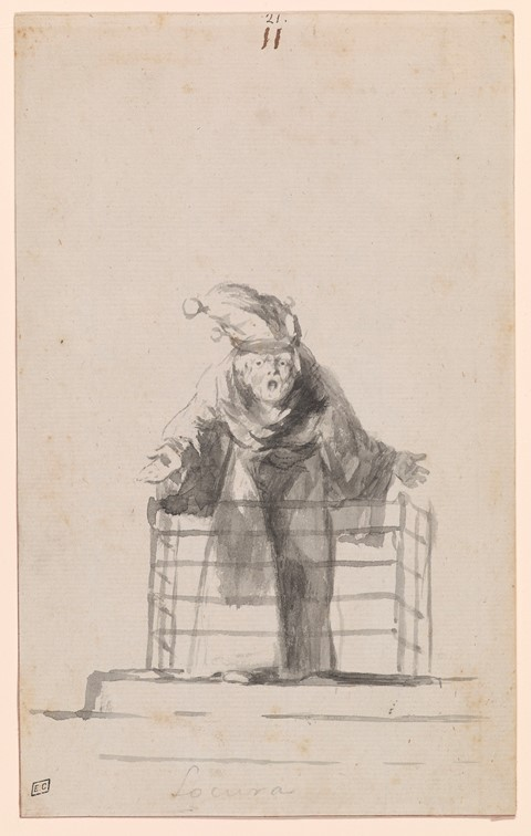 Francisco de Goya, Locura (Madness)