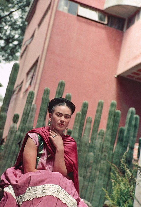 NYBG_Frida_Kahlo_cactus_photo_by_Nickolas_Muray