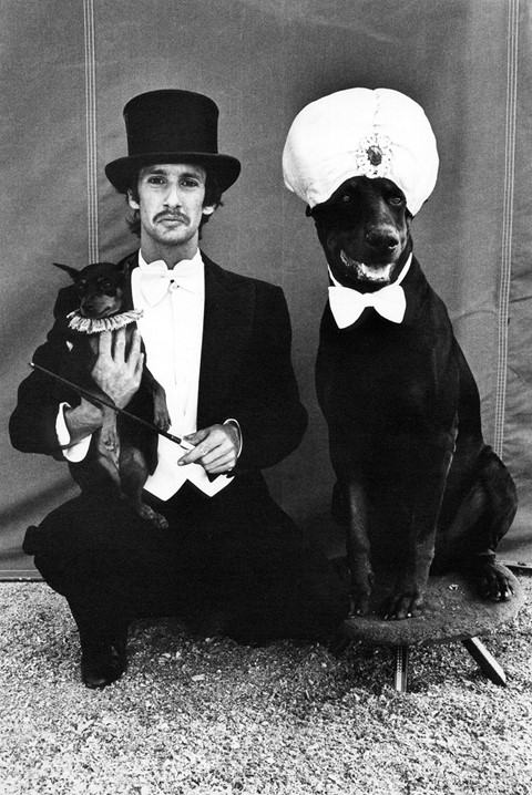 1_Lloyd Steir and Dogs at the Big Apple Circus, NY