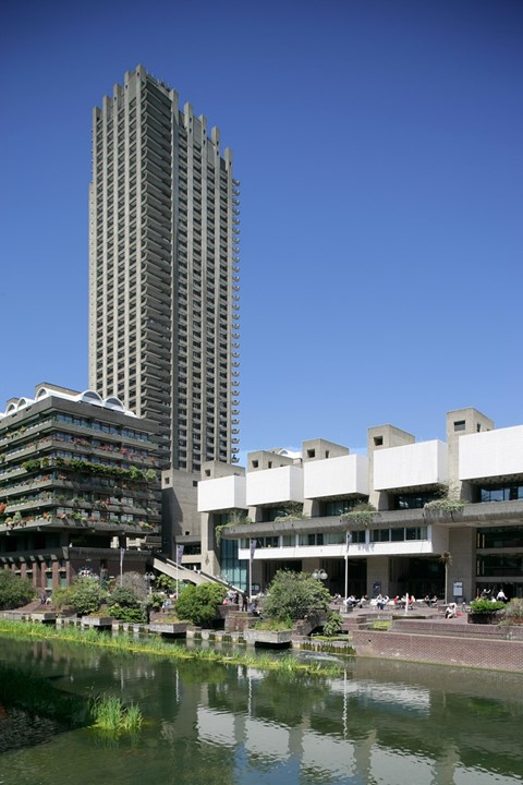 The Barbican Lakeside © Courtesy of the Barbican Centre