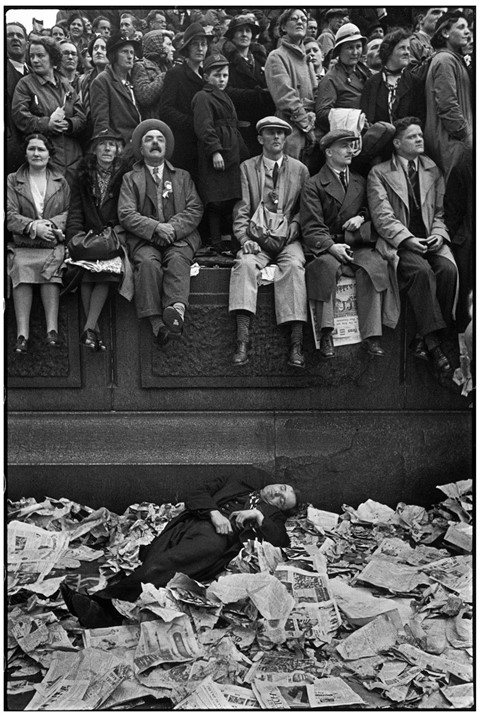 Coronation-of-King-George-VI,-1937.-Henri-Cartier-