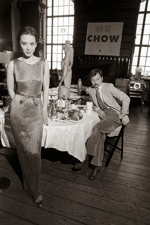 Tina Chow and Michael Chow, 1979