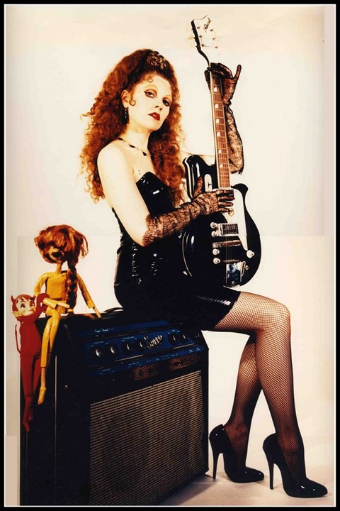 Poison Ivy Rorschach of The Cramps, Los Angeles 1994