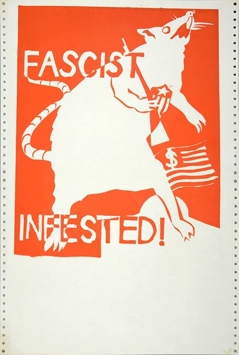 4.-Fascist-Infested!,-1970,-Courtesy-Shapero-Moder