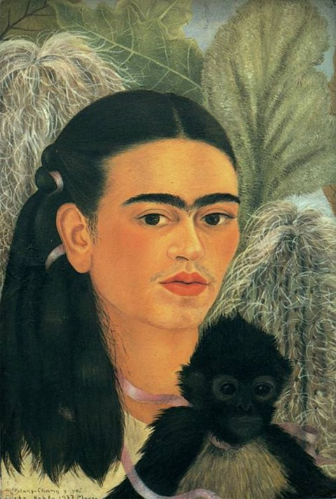 Frida Kahlo, Fulang-Chang and I, 1937