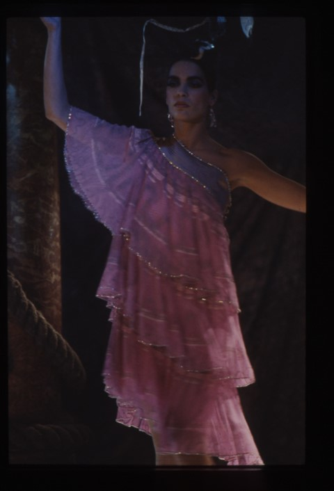 The Frilly Circle Dress - Olympia Show 1983