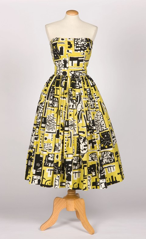 Image 5. Eduardo Paolozzi, Cocktail Dress for Horr