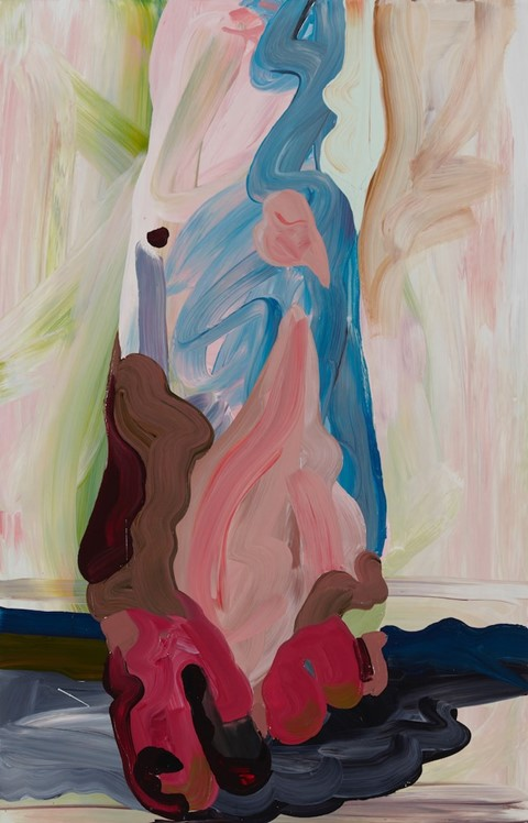 ​Clare Woods, Babs the Impossible, 2015, Oil on al