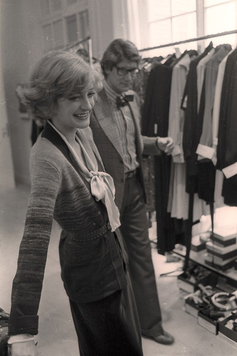 3c8d008b The Yves Saint Laurent Muse Who Was a Style Trailblazer in Her Own ...