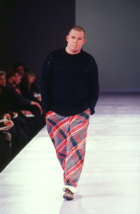 6cf961dd Walking as part of Comme des Garçons' A/W97 show would become part of Lee  McQueen's lifelong love affair with Rei Kawakubo's work