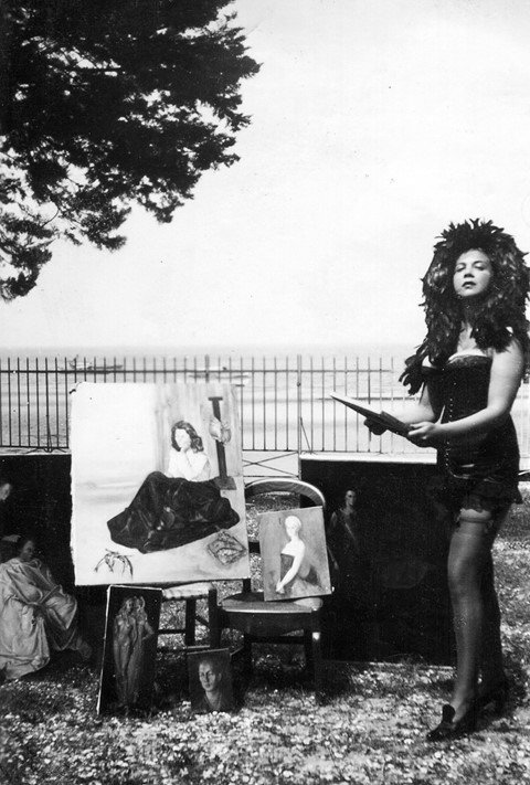 Leonor-Fini_Arcachon_1940_Anonymous_Courtesy_of_Le