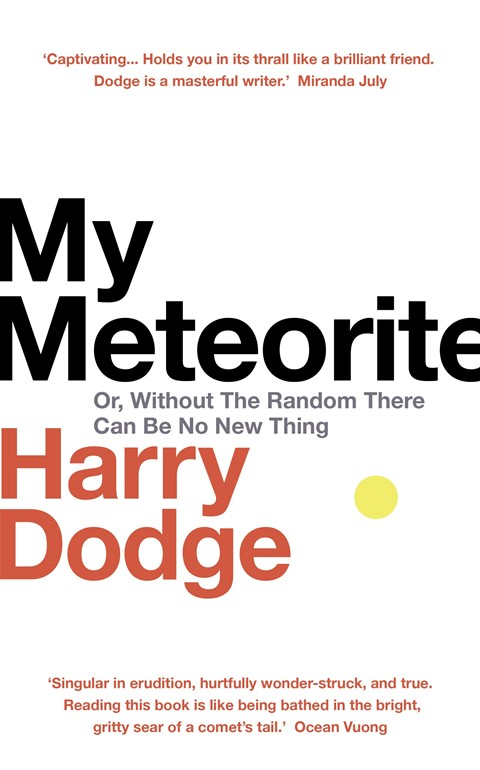 My Meteorite by Harry Nelson book cover