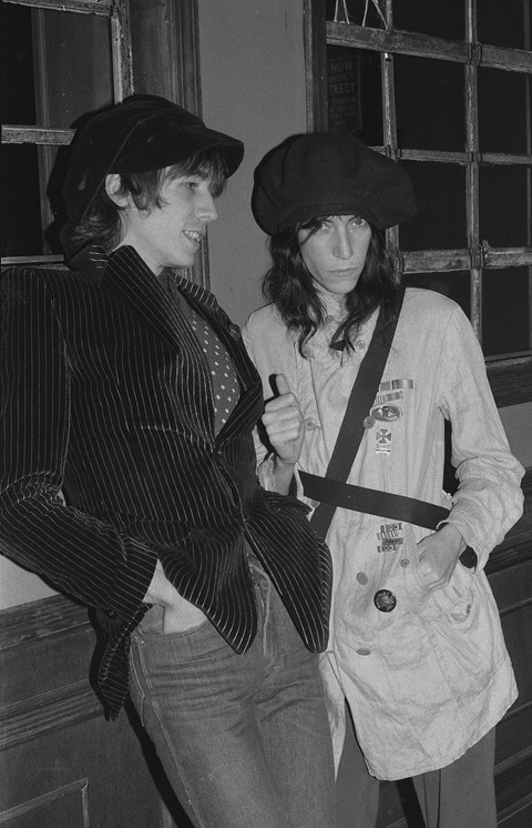 Patti Smith and Ivan Karl © Gary Green