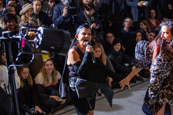 """Why Michèle Lamy Performed a """"Ritualistic Dance"""" in Archive Comme"""