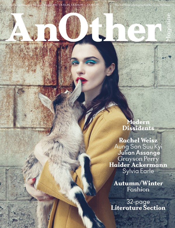AnOther Magazine Issue 21, autumn/winter 2011, photographed
