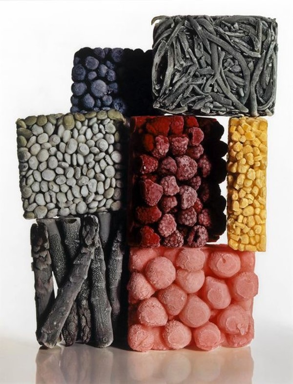Frozen Food (with String Beans), 1977, Irving Penn