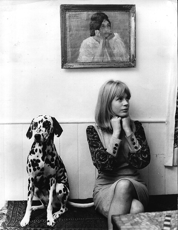 Marianne Faithfull, 1964