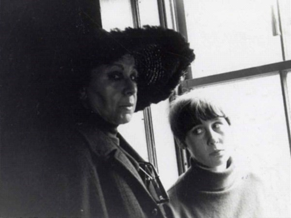 Louise and Neith Nevelson, c.1965