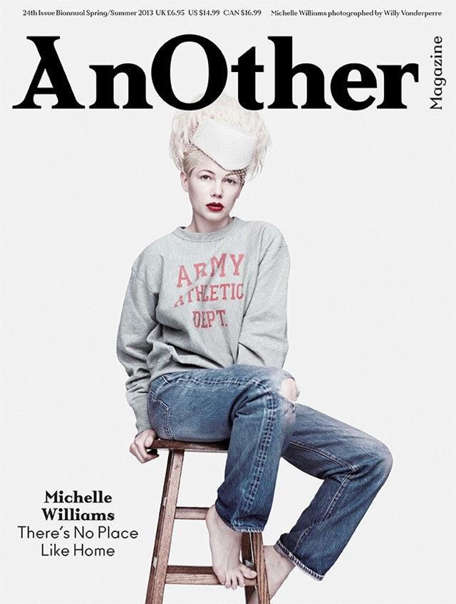 Michelle Williams, AnOther Magazine S/S13