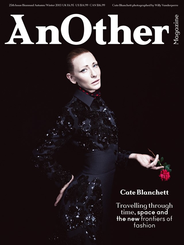 Cate Blanchett for AnOther Magazine A/W13