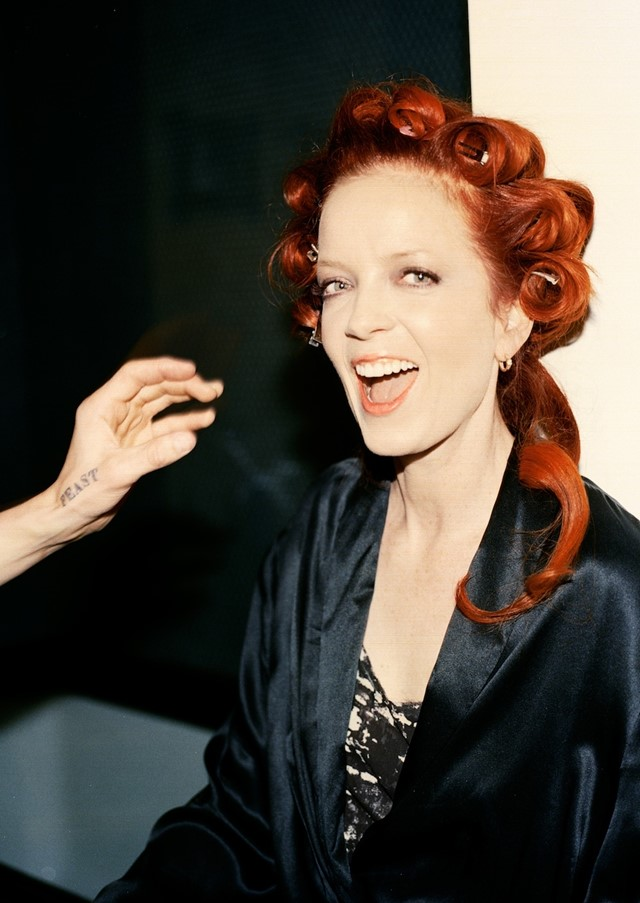 Shirley Manson styled by B Akerlund for & Other Stories