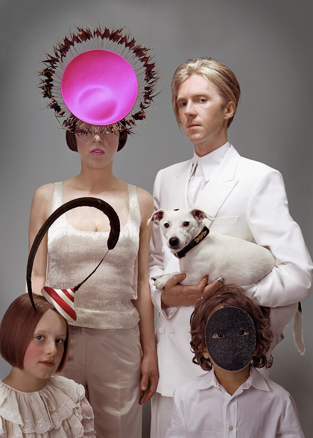 Isabella Blow and Philip Treacy, 2003