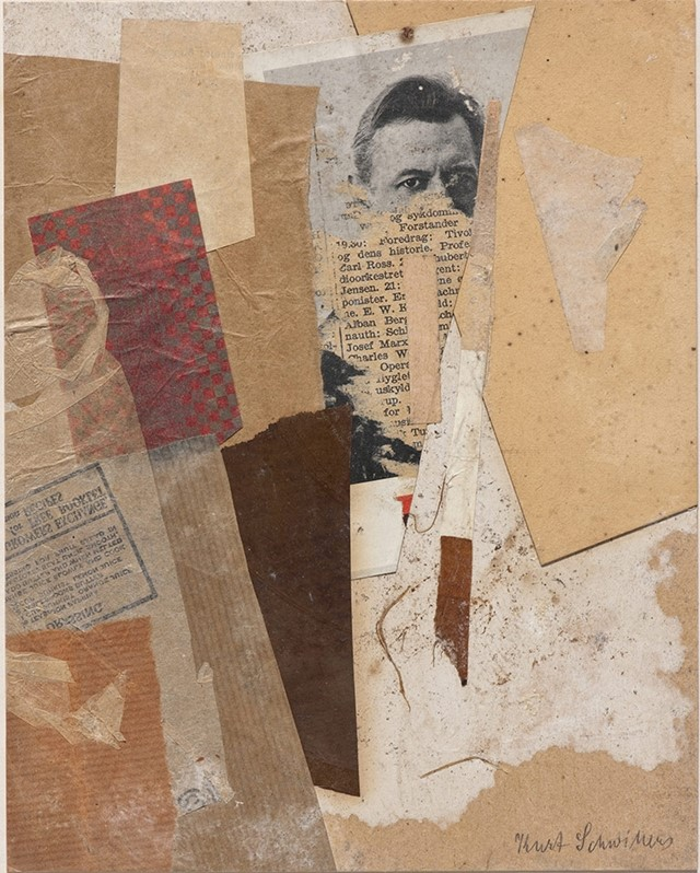 Kurt Schwitters, Untitled, 1937-8