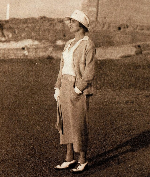 Mademoiselle Chanel in 1924 at Villa Marina at Guethary