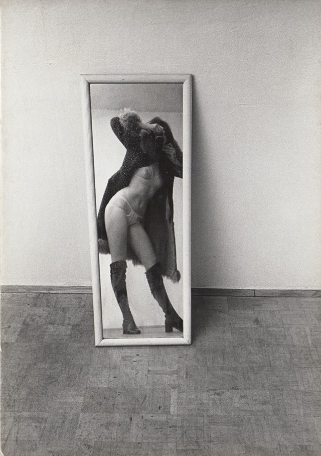 Friedl Kubelka, Untitled (Pin-up), 1973