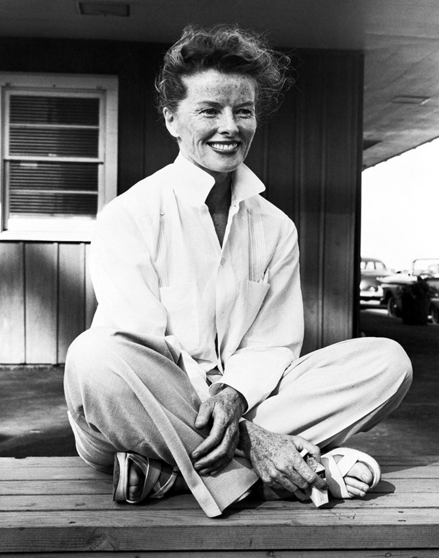 Katharine Hepburn in the 1950s