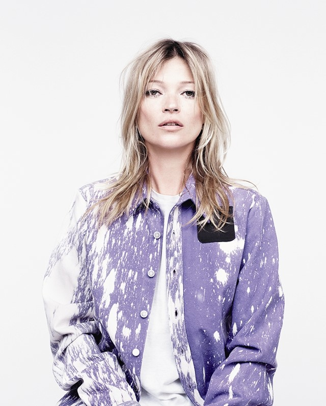 Kate Moss in Raf Simons/Sterling Ruby for AnOther Magazine A